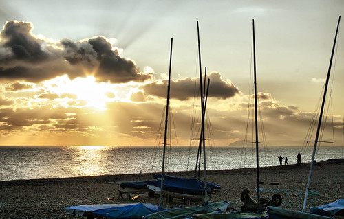 uk sea england people clouds unitedkingdom shingle yachts sunrays masts beachyhead jubilation bexhill coastuk larigan phamilton welcomeuk licensedwithgettyimages