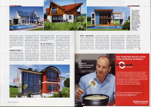 Weekend Magazin: Fertighaus Seite 2