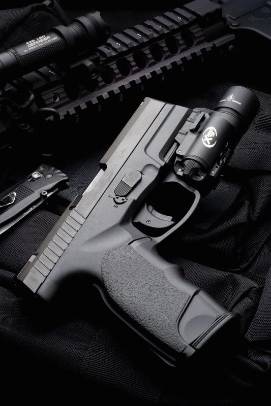 Steyr M9-A1 Pistol with Surefire X300 Light   Newest light a