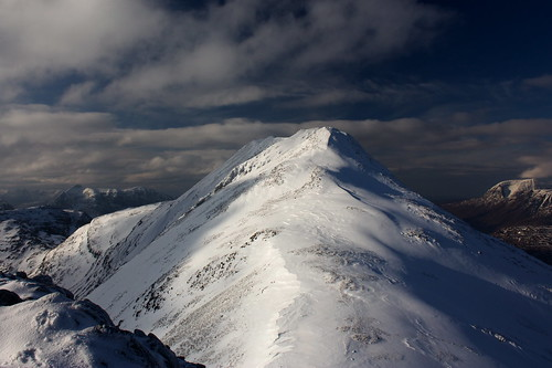 The summit of Beinn Liath Mhor | by Nick Bramhall