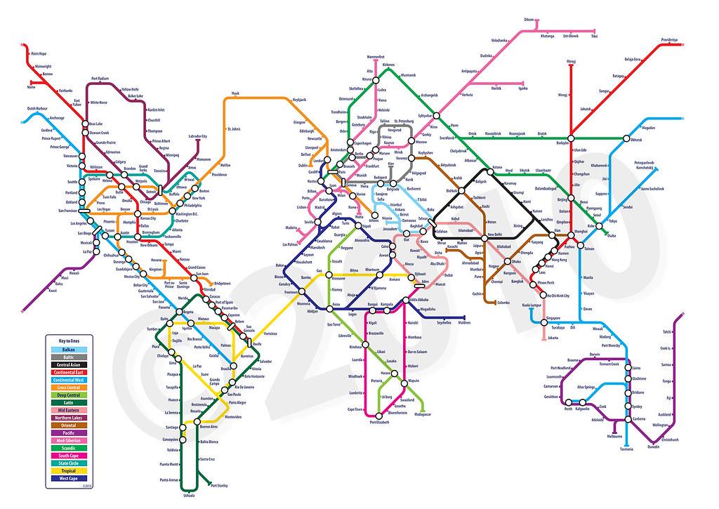 World Metro Subway Map.World Metro Map Metro Subway Tube Underground Differen Flickr