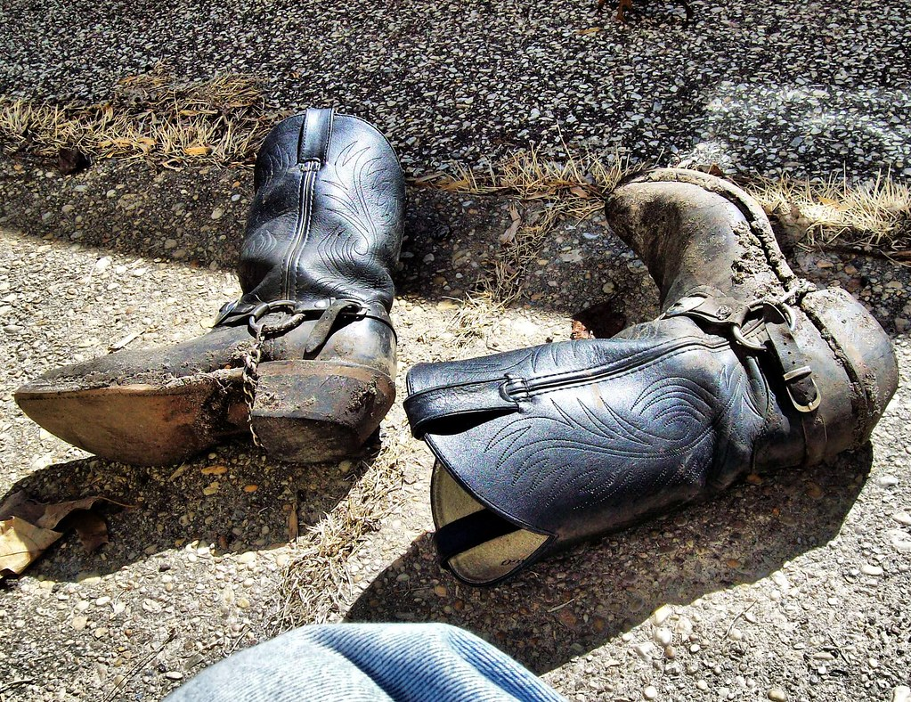 9861964388b Dirty Boots | These bad boys got a good workout in the woods… | Flickr