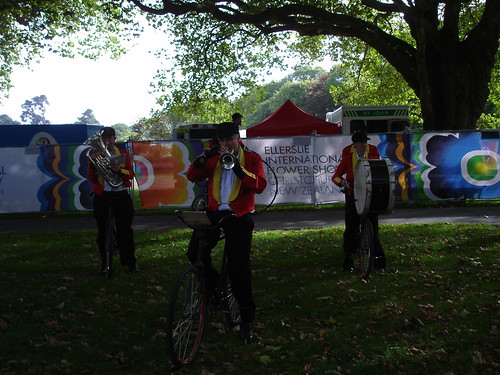 Bicycle Band at the Ellerslie International Flower Show