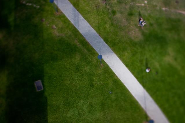 Sydney: Looking down on to Bradfield Park