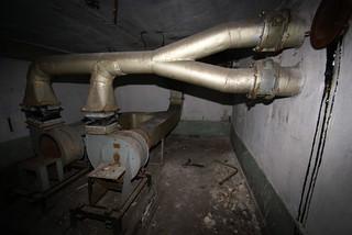 Saryozek, Eastern Missile Silo Site, Tech Bunker Upper Lev