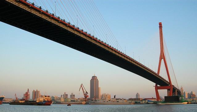 Shanghai - Yangpu Bridge