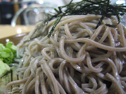 Cold Soba Noodles (close up) | by Ron Dollete