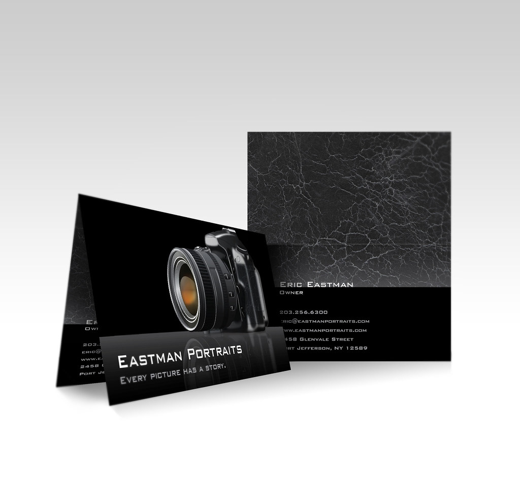 vistaprint folded business card camera check out more. Black Bedroom Furniture Sets. Home Design Ideas