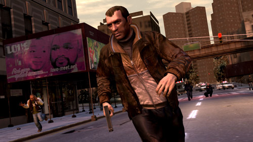 Niko Bellic From Gta Iv Niko Bellic Running In Gta Iv Flickr