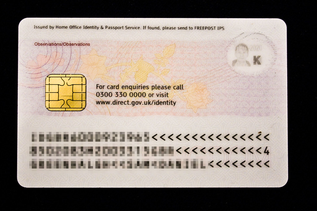 UK National Identity Card | This is my new UK National Ident… | Flickr