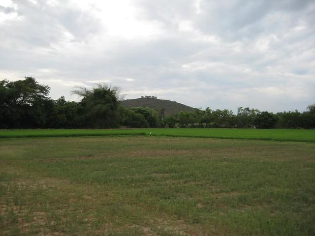 Nearby Bairavar temple on hilltop