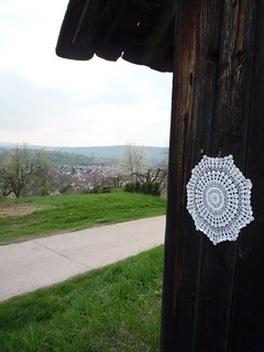 Vintage doily with a view | by storebukkebruse