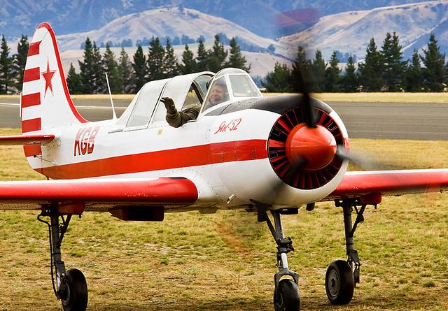 Yakovlev Yak-52 NZ-KGB