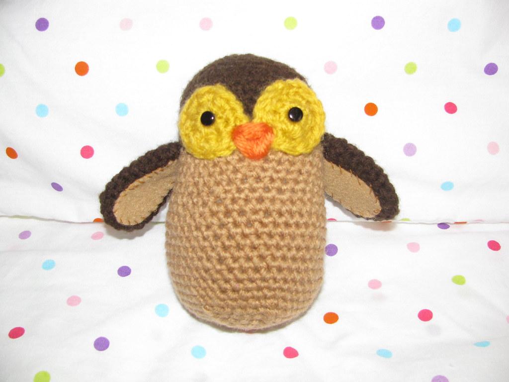 Albert The Owl II Crochet Owl Pattern | Owl crochet patterns, Owl ... | 768x1024