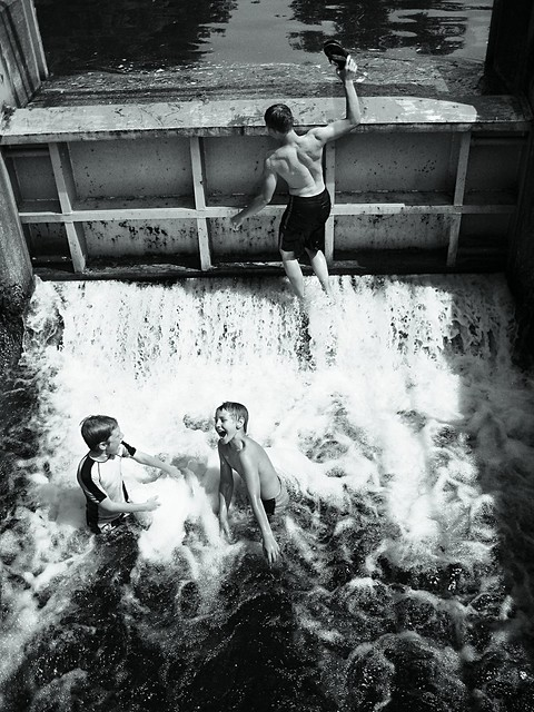 Swimming in the Dam