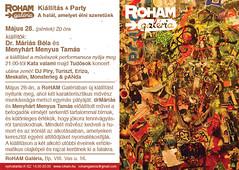 2010. május 29. 20:05 - Dr. Máriás Béla és Menyhárt Menyus Tamás kiállítása