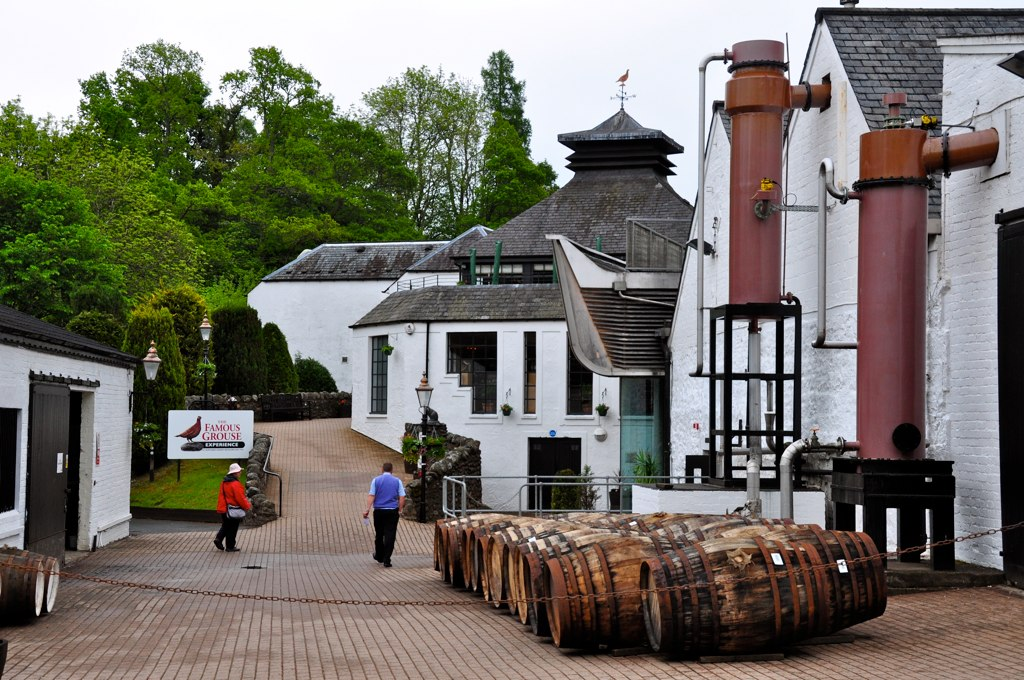 Famous Grouse Distillery (Glenturret), Crieff