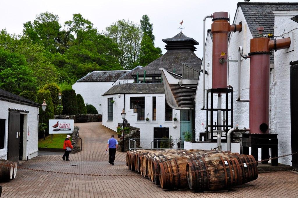 Famous Grouse Distillery (Glenturret), Crieff