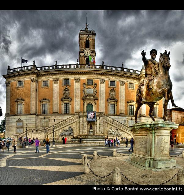 Statua di Marco Aurelio in Campidoglio (Roma)