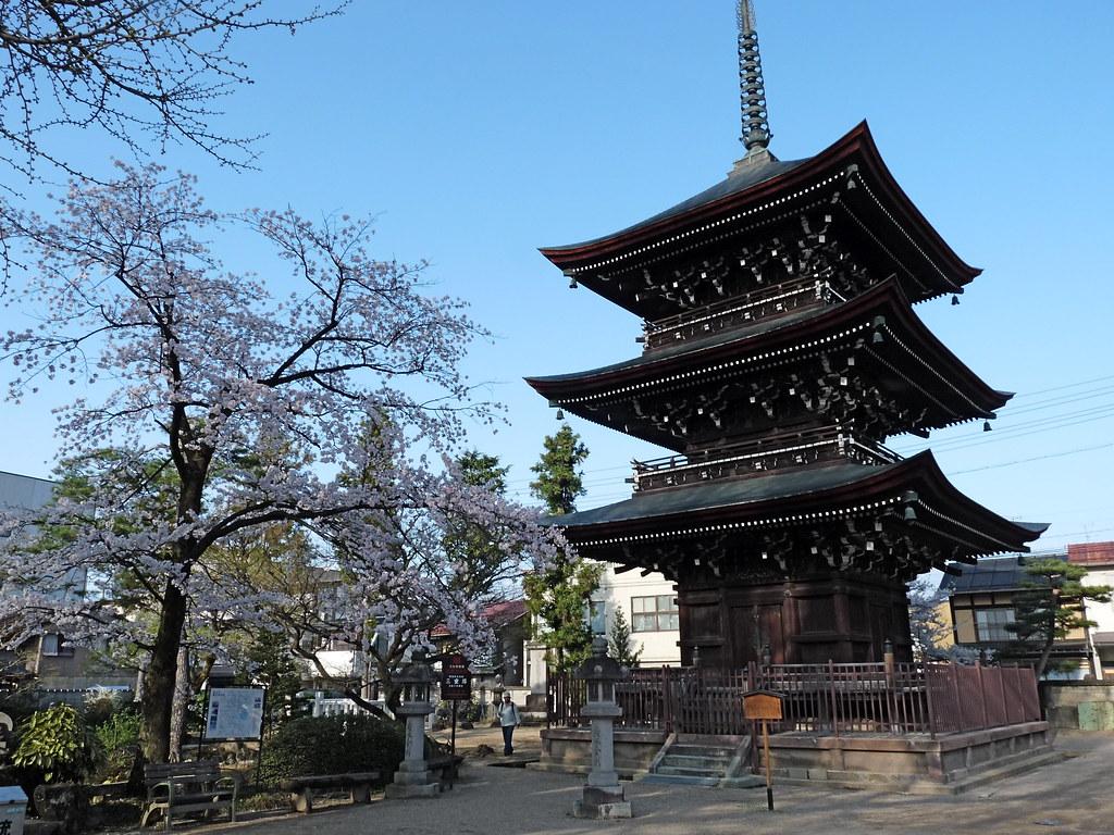 Hida-Kokubunji Pagoda (飛騨国分寺), Takayama (高山)