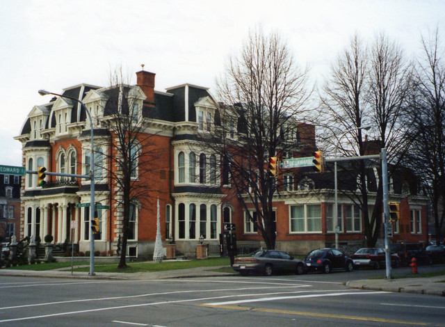 Buffalo NY ~ Charles F. Sternberg House / The Mansion on Delaware Ave.