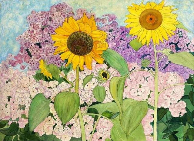 Ernest Bieler - Sunflowers