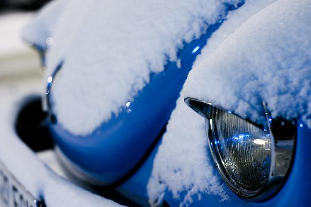 Nieve hasta en los ojos
