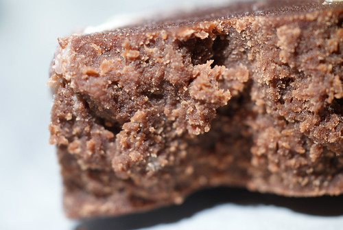 Double Trouble Chocolate Fudge From Jim Garrahy's Fudge Kitchen Side view | by Chocolate Reviews