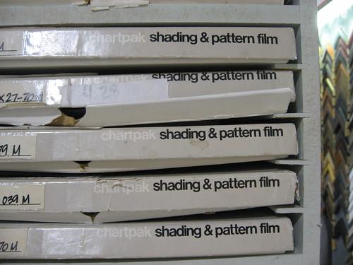 chartpak shading & pattern film | by JSDesign