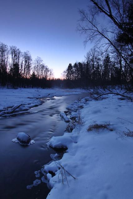 Mecan River, Waushara County, Wisconsin