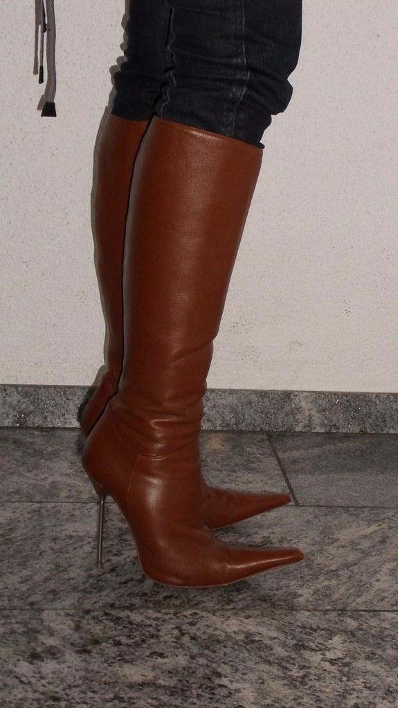 wholesale dealer b5def 6e9d5 Brown stiletto boots | Samsung digital camera | Rosina's ...
