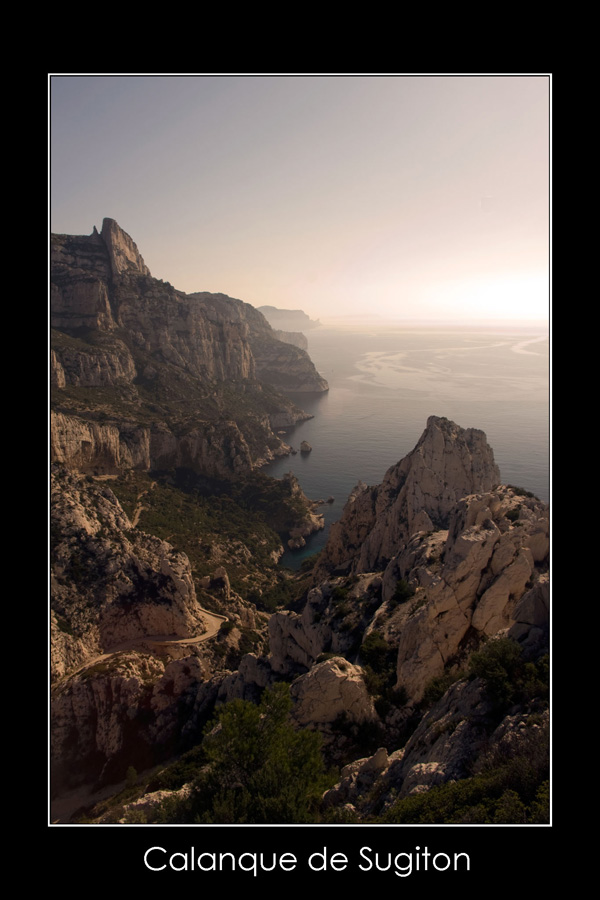 Marseille, Calanque de Sugiton par Karim SAARI
