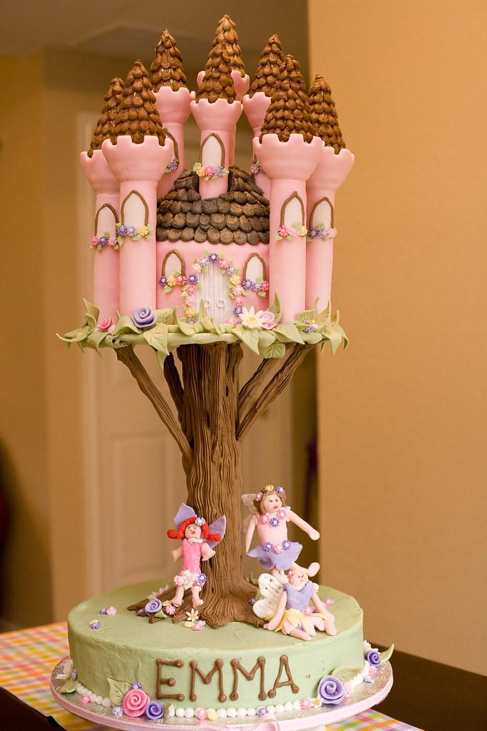 The Ultimate Flower Fairy Birthday Cake The Birthday