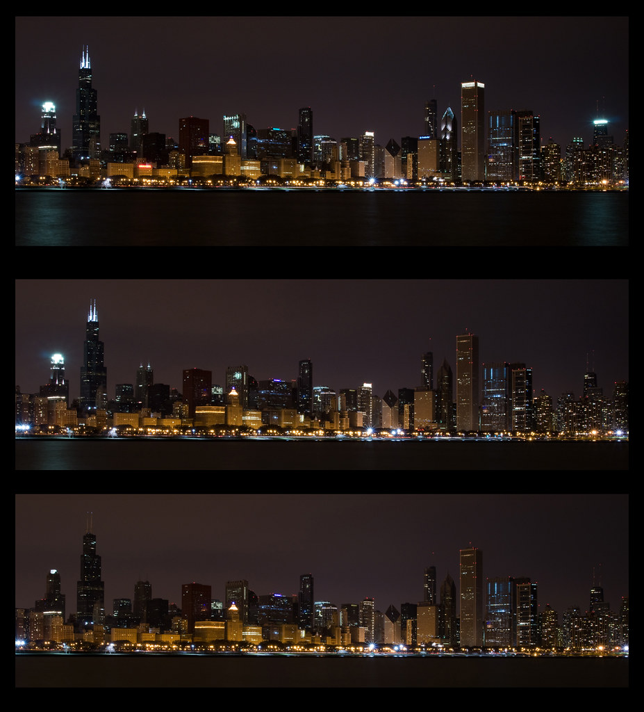 Earth Hour 2010, Chicago by Caryn Hughes