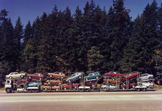 Freightliner coe Convoy 18 Hondas
