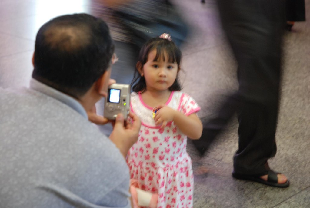 Father and daughter/Singapore