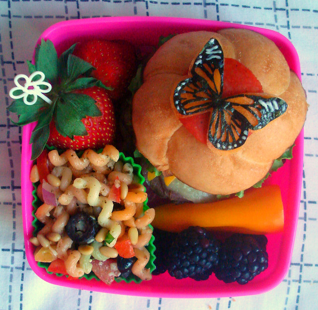Monarch Butterfly Bento #48