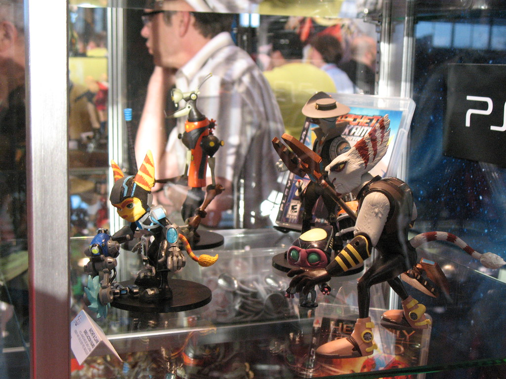 New Ratchet And Clank Toys Ii Dweeze Flickr