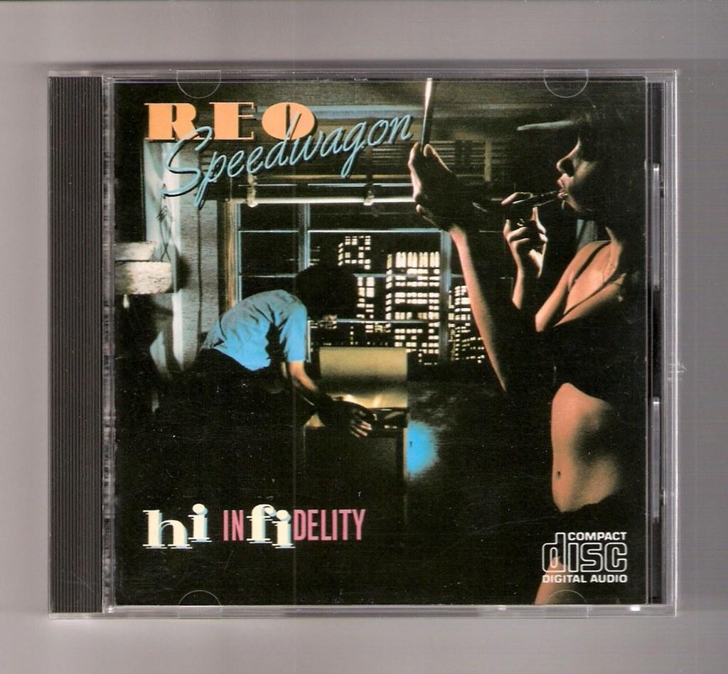 REO Speedwagon - Hi Infidelity | Epic/Sony 35 8P-4 | Danny
