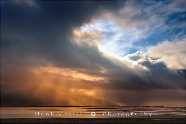Rays of Light - Hofn - Iceland