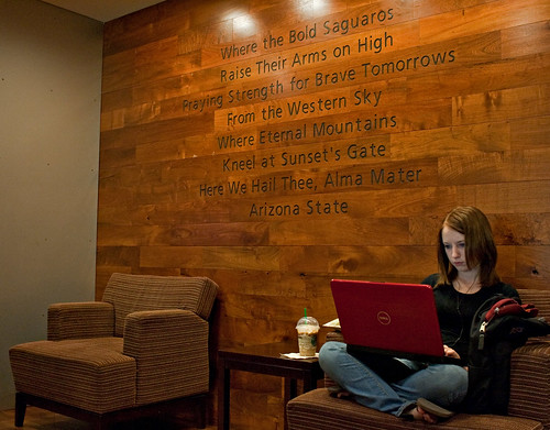 ASU Alma Mater | You can always find a quiet place to ...