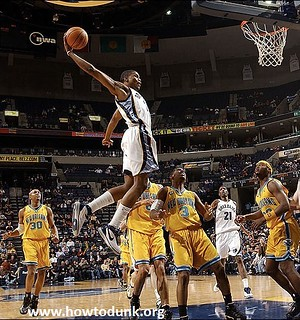 Rudy Gay Dunk | by HowtoDunk.org