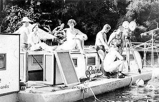 1950's Movie filming