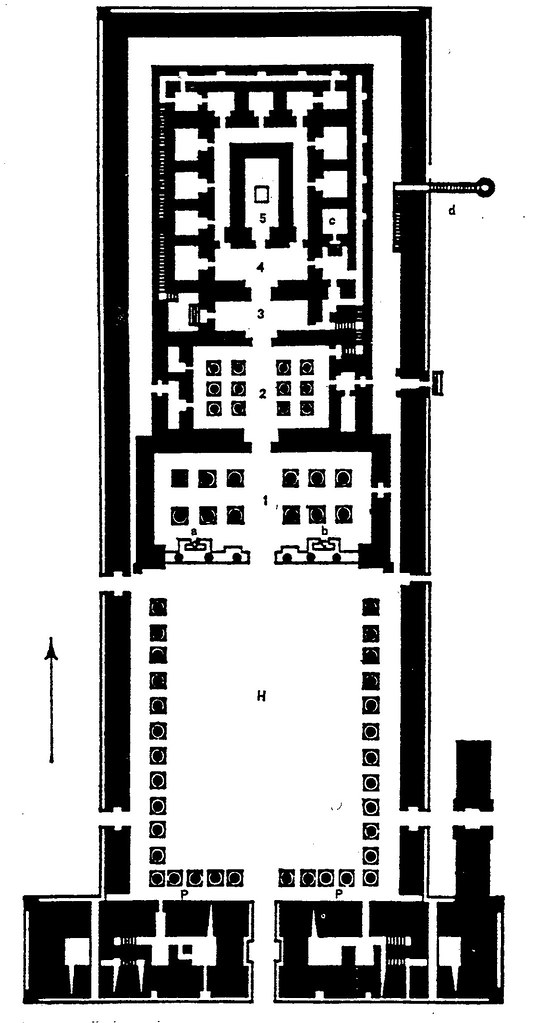 Edfu Temple Plan