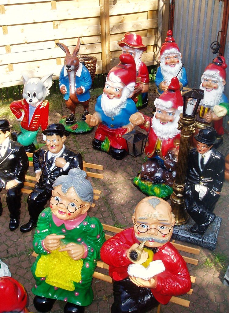 Garden Gnomes For Sale In Poland Along The Roads In The Co Flickr