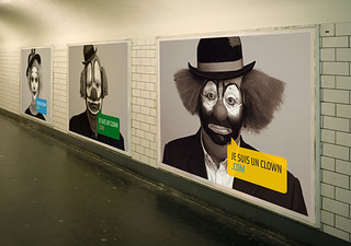 jesuisunclown.com - Paris Metro | by Elephant Ideas & Design