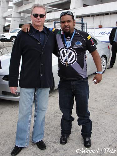 .Ricardo Henaine y Zefiro en el estadio Cuauhtémoc por LAE Manuel Vela