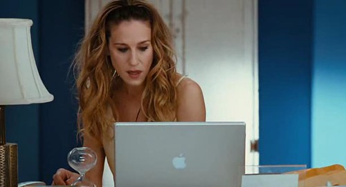 Apple  Product Placement In The Movie Sex And The City -3051