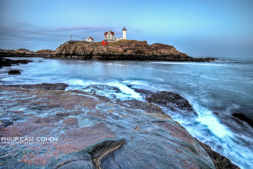 Nubble Light by Philip Case Cohen
