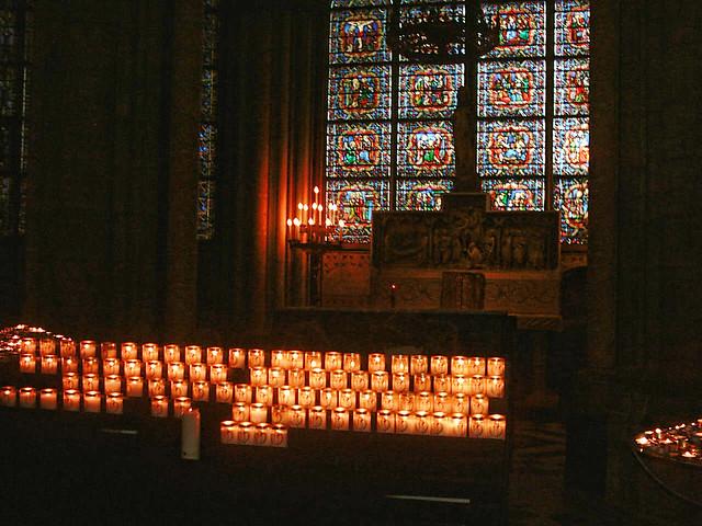 Veladoras de la Catedral de Notre Dame (Paris - Francia) | Flickr